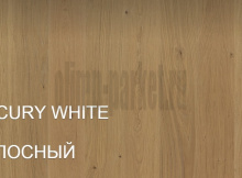 Паркетная доска Polarwood Space 1-а полосная Спейс Дуб Merсury White Oiled