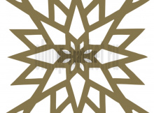 Пробковое покрытие Muratto Pattern Tiles  Arabic Gold YRPTARA05
