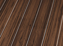 Глянцевый ламинат Falquon Silver Line Wood  Ebony Makkasar (Эбони Макассар)